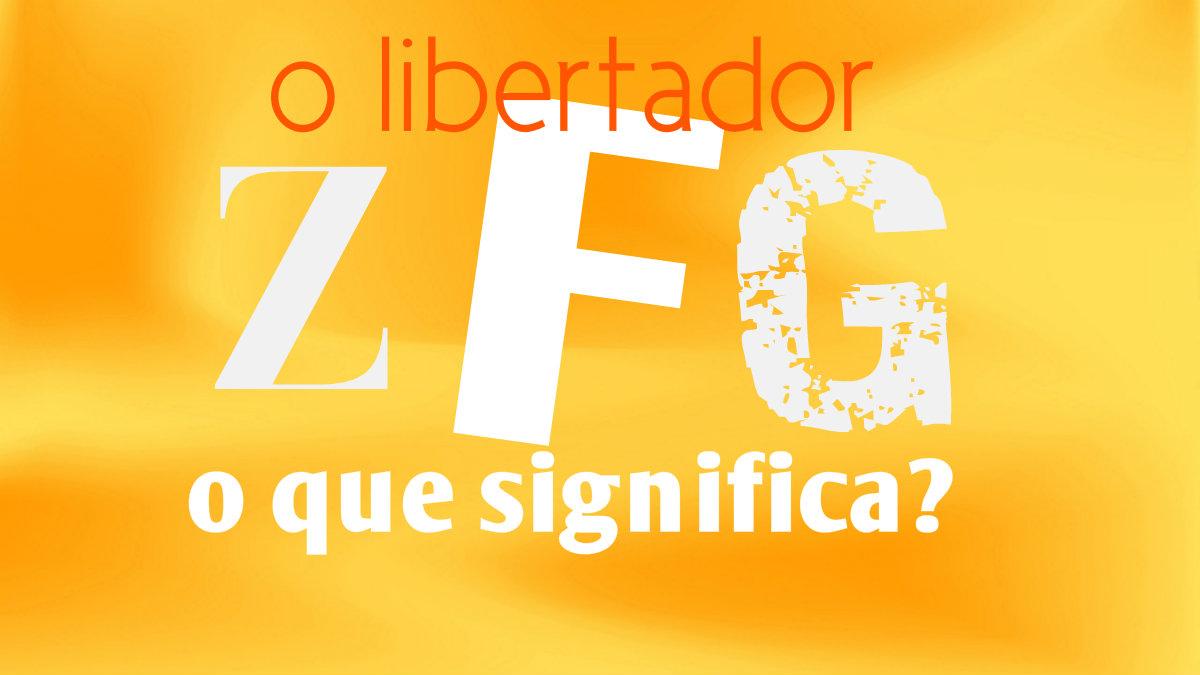 Você é mais feliz de acordo com a quantidade de ZFG!