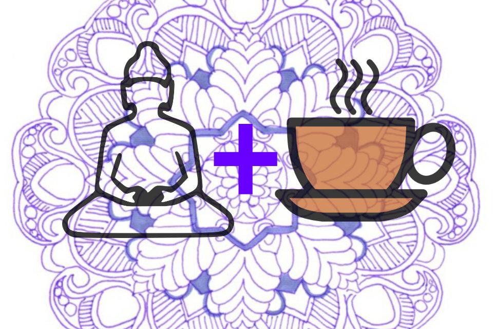 O que acontece quando se medita depois de um cafezinho?