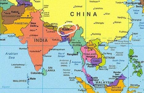 Sul-da-Asia-Mapa